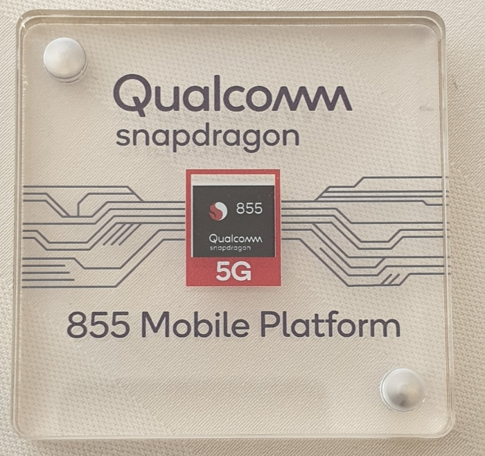 Qualcomm Snapdragon 855 shot