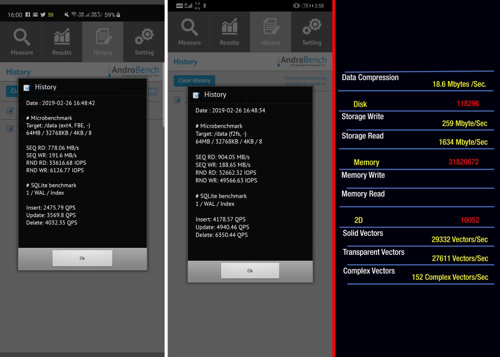 Samsung Galaxy S10 Plus vs Huawei Mate 20 Pro vs iPhone XS Max Storage