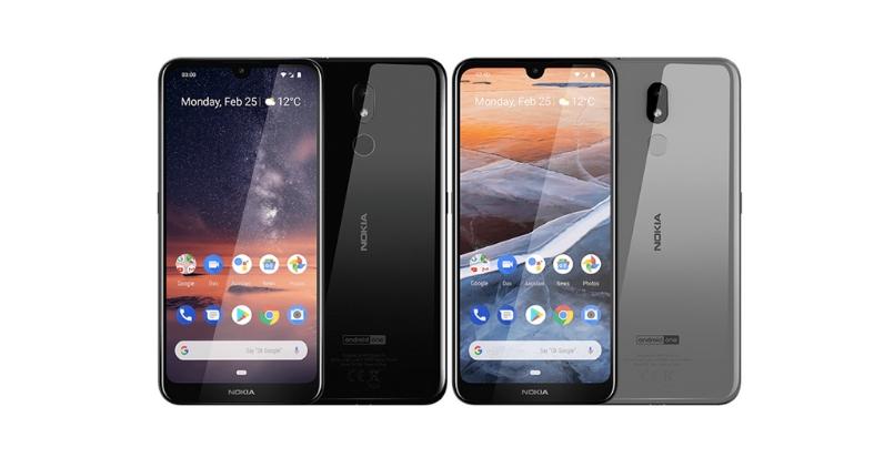 Nokia 3.2 Colours - Feature