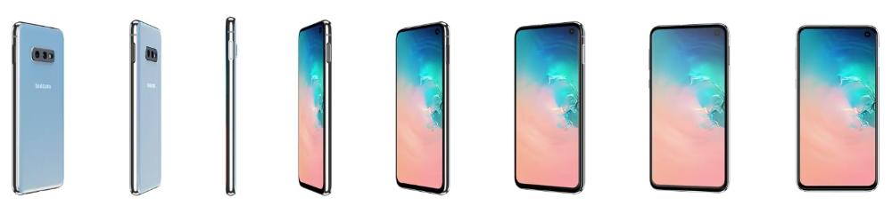 Galaxy S10e renders