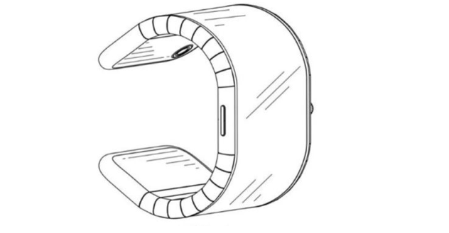 TCL Foldable Smartwatch