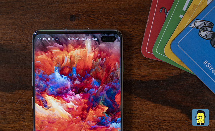 Samsung Galaxy S10+ 4