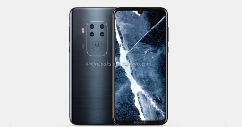Motorola Quadruple Rear Camera Phone - Feature Image