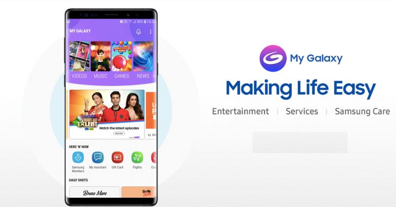 Samsung Galaxy - My Galaxy App - Feature Image