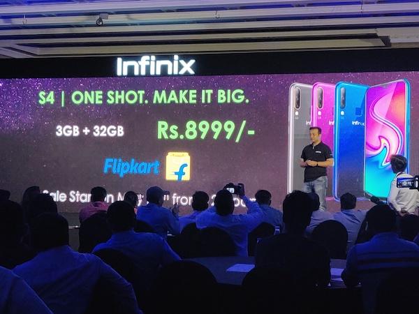Infinix S4 Price