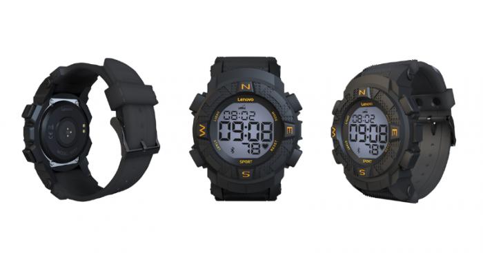 Lenovo Smartwatch - Ego Black - Feature Image