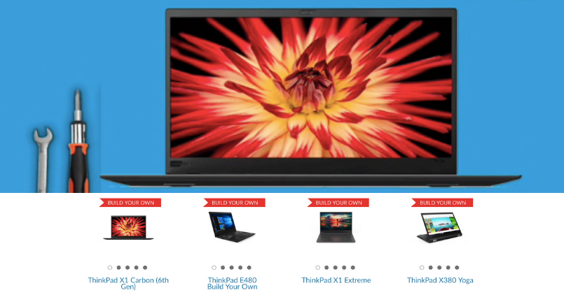 Lenovo ThinkPad - Made To Order - Feature Image
