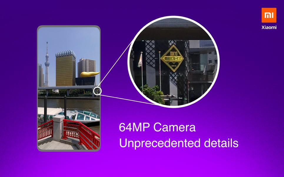 Camera details - 64MP