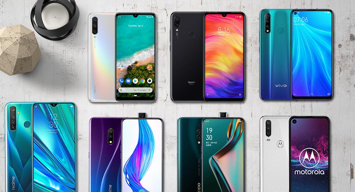 Best phones under 20000 - September 2019