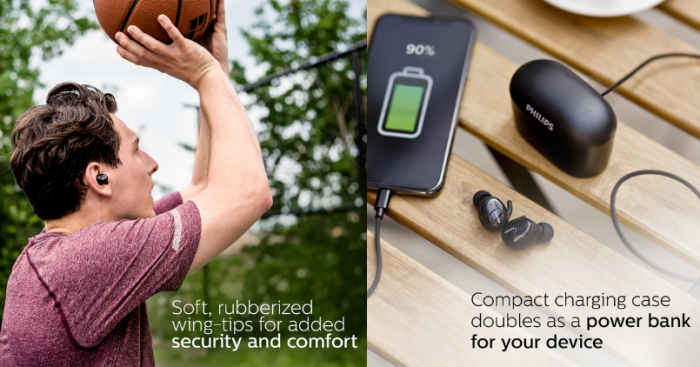 Philips True Wireless Earbuds - Feature Image