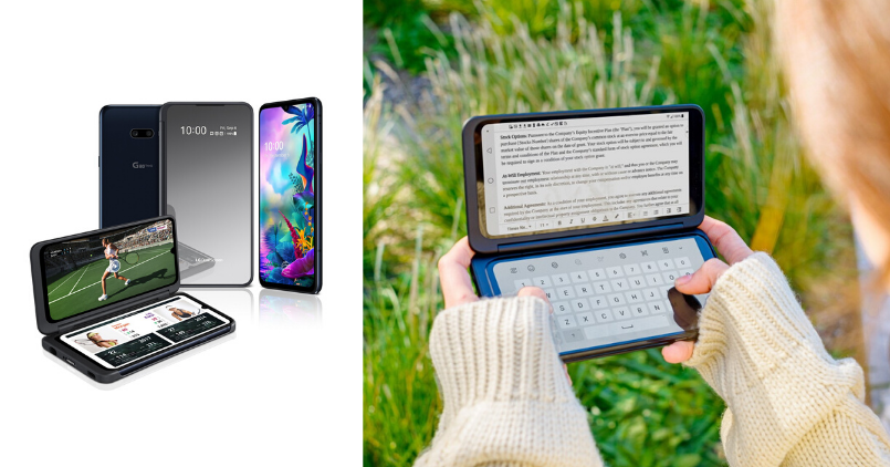 LG G8X ThinQ Unfolded - Feature Image