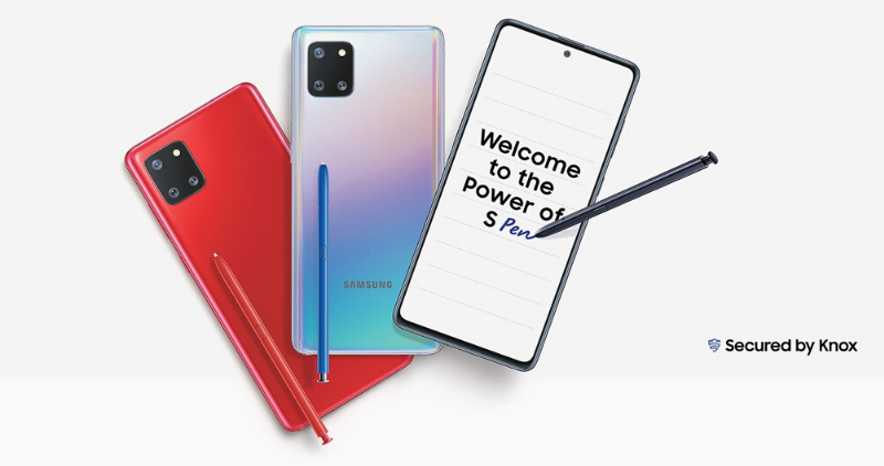Samsung Galaxy Note 10 Lite - Feature Image