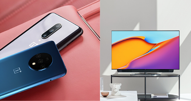 OnePlus 7 Pro, 7T Series, and OnePlus TV - Feature Image