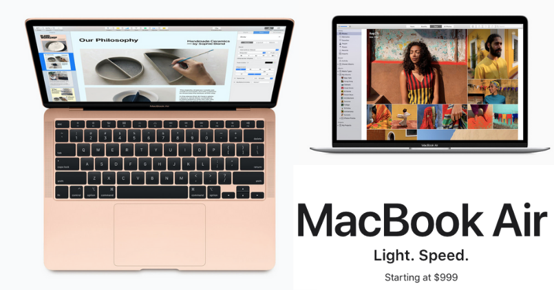 MacBook Air 2020 - Feature Image