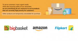 Amazon Flipkart BigBasket - Feature Image