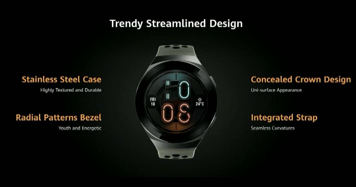 Huawei Watch GT 2e feat