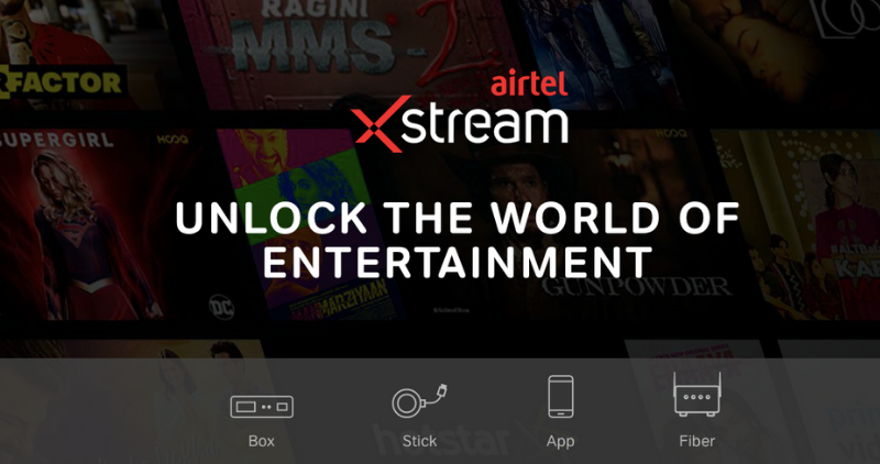 Airtel Xstream - Feature Image