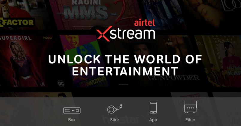 Airtel Xstream - Feature Image