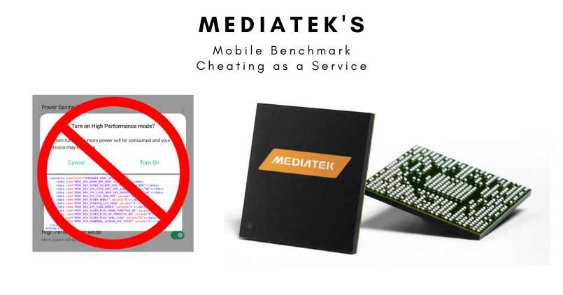 MEDIATEK MOBILE BENCHMARK CHEATING - Feature Image