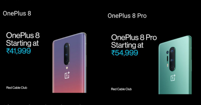 OnePlus 8 Series India Pricing - Feature Image