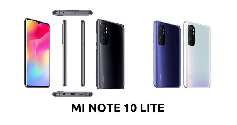 Mi Note 10 Lite - Feature Image