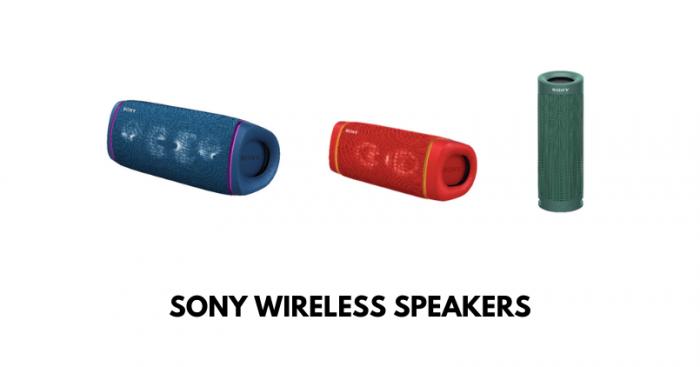 Sony Wireless Speakers - Feature Image