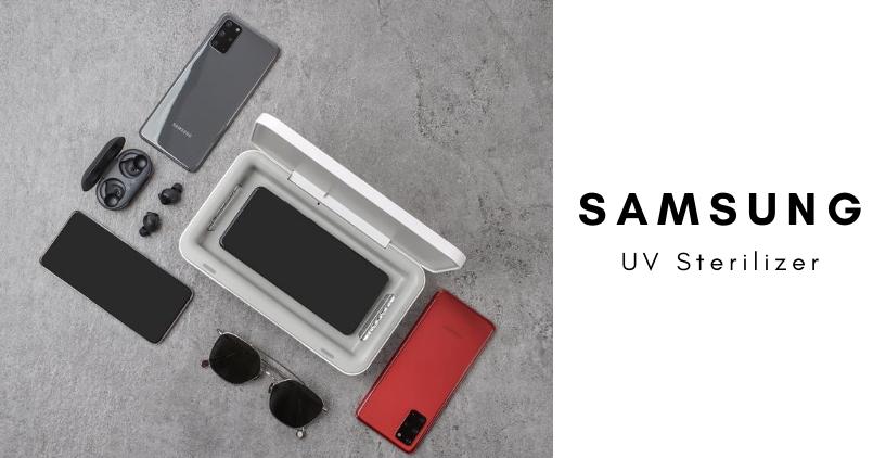 Samsung UV Sterilizer - Feature Image