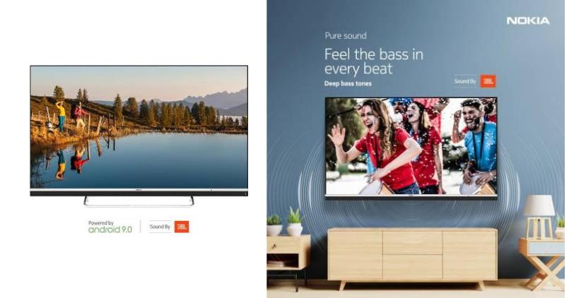 Nokia 65-inch 4K LED Smart TV - Feature Image