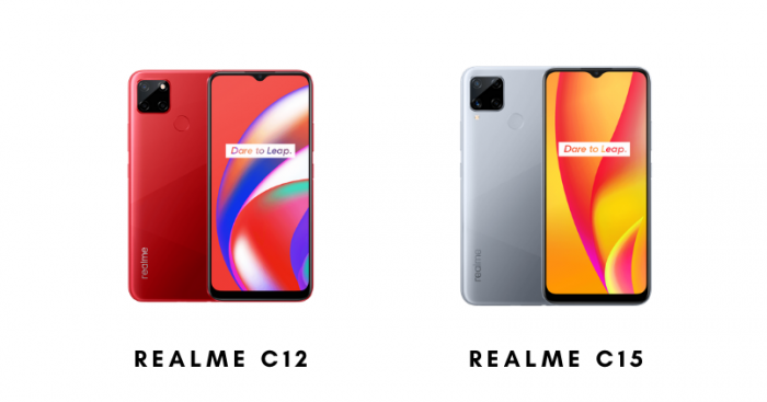 Relame C12 and Realme C15 - Feature Image