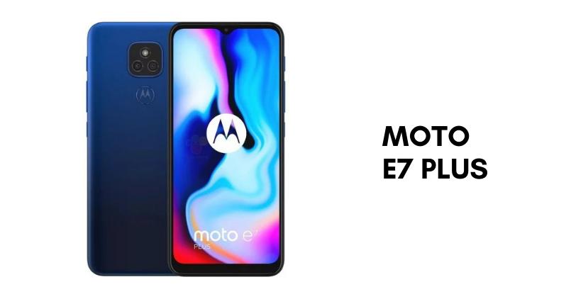 Moto E7 Plus - Feature Image