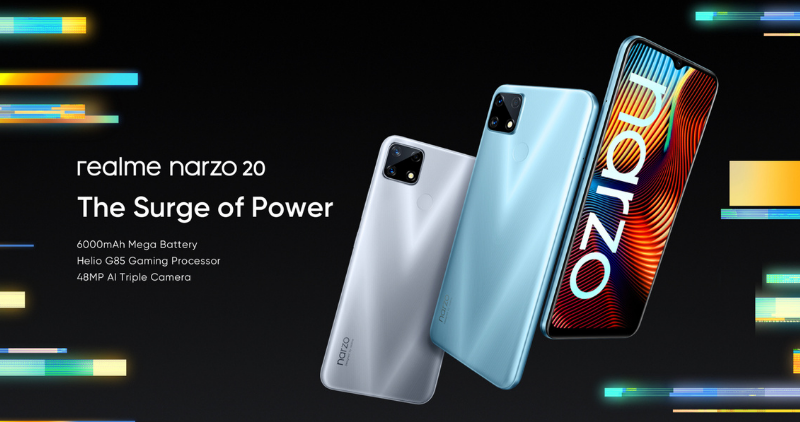 Narzo 20 Series - Feature Image
