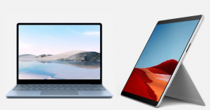 Surface Laptop Go and Surface Pro X - Feature Image