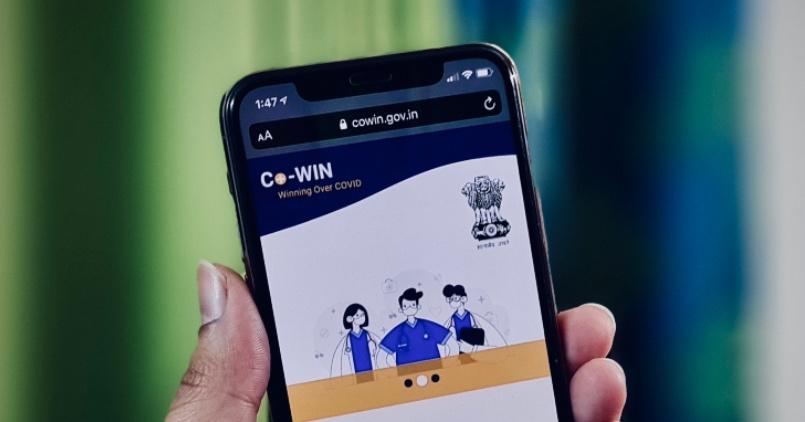 CoWIN Website_Phone