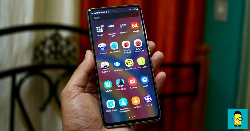 Samsung Galaxy S20 FE_UI